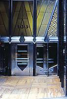 New York: American Radiator Building, entrance. Photo '78.