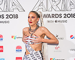 Imogen Anthony at  the 32nd Annual ARIA Awards 2018 at The Star on November 28, 2018 in Sydney, Australia photo by Rhannon Hopley