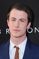 "30 March 2017 - Los Angeles, California - Dylan MInnette.  Premiere Of Netflix's ""13 Reasons Why"" held at Paramount Studios in Los Angeles. Photo Credit: Birdie Thompson/AdMedia"