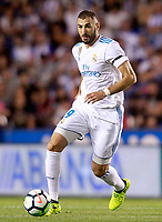 Real Madrid's Karim Benzema during La Liga match. August 20,2017. (ALTERPHOTOS/Acero)<br /> Deportivo La Coruna - Real Madrid <br /> Liga Campionato Spagna 2017/2018<br /> Foto Alterphotos / Insidefoto <br /> ITALY ONLY
