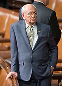 United States Representative Paul D. Tonko (Democrat of New York) is an early arrival in anticipation of US President Barack Obama's final State of the Union Address in the US House Chamber in the US Capitol on Tuesday, January 12, 2016.<br /> Credit: Ron Sachs / CNP<br /> (RESTRICTION: NO New York or New Jersey Newspapers or newspapers within a 75 mile radius of New York City)