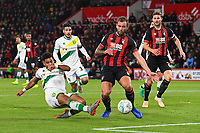 Onel Hernandez of Norwich City scores to tie the score 1-1 during AFC Bournemouth vs Norwich City, Caraboa Cup Football at the Vitality Stadium on 30th October 2018