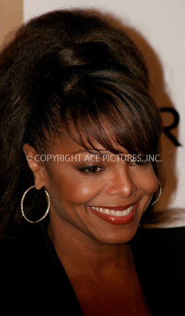 WWW.ACEPIXS.COM . . . . .  ....September 26, 2006, New York City. ....Janet Jackson attends the LG and FHM event to celebrate the release of 20 YO with Celebrity Bash. ....Please byline: NANCY RIVERA- ACE PICTURES.... *** ***..Ace Pictures, Inc:  ..Philip Vaughan (212) 243-8787 or (646) 769 0430..e-mail: info@acepixs.com..web: http://www.acepixs.com