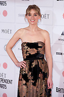 Anne Marie Duff arriving for the Moet British Independent Film Awards 2014, London. 07/12/2014 Picture by: Alexandra Glen / Featureflash