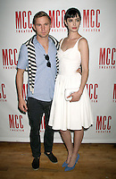 June 14 , 2012 Brian Geraghty and Krysten Ritter attend the MCC Theater's benefit reading of The Heart Of The Matter afterparty  at the Ramscale in New York City. © RW/MediaPunch Inc. NORTEPHOTO.COM<br />