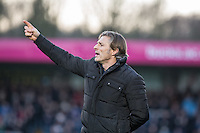 Wycombe Wanderers Manager Gareth Ainsworth during the Sky Bet League 2 match between Wycombe Wanderers and Newport County at Adams Park, High Wycombe, England on 2 January 2017. Photo by Kevin Prescod.