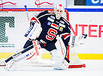 S&ouml;dert&auml;lje 2014-09-22 Ishockey Hockeyallsvenskan S&ouml;dert&auml;lje SK - IF Bj&ouml;rkl&ouml;ven :  <br /> S&ouml;dert&auml;ljes m&aring;lvakt Tim Sandberg i aktion <br /> (Foto: Kenta J&ouml;nsson) Nyckelord: Axa Sports Center Hockey Ishockey S&ouml;dert&auml;lje SK SSK Bj&ouml;rkl&ouml;ven L&ouml;ven IFB portr&auml;tt portrait