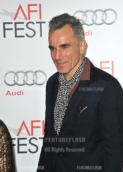 "Daniel Day-Lewis at the AFI Fest premiere of his movie ""Lincoln"" at Grauman's Chinese Theatre, Hollywood..November 8, 2012  Los Angeles, CA.Picture: Paul Smith / Featureflash"