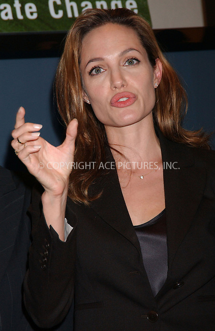 WWW.ACEPIXS.COM . . . . . ....September 26 2007, New York City....Actress Angelina Jolie during the opening discussion at the Clinton Global Initiative annual meeting 2007 at the Sheraton Hotel in midtown Manhattan....Please byline: KRISTIN CALLAHAN - ACEPIXS.COM.. . . . . . ..Ace Pictures, Inc:  ..(646) 769 0430..e-mail: info@acepixs.com..web: http://www.acepixs.com