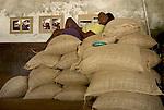 Leila  espera a que seque el cacao.  Chuao. Venezuela. © Juan Naharro
