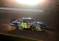 Apr 22, 2006; Phoenix, AZ, USA; Nascar Nextel Cup driver Jimmie Johnson of the (48) Lowes Chevrolet Monte Carlo during the Subway Fresh 500 at Phoenix International Raceway. Mandatory Credit: Mark J. Rebilas-US PRESSWIRE Copyright © 2006 Mark J. Rebilas..