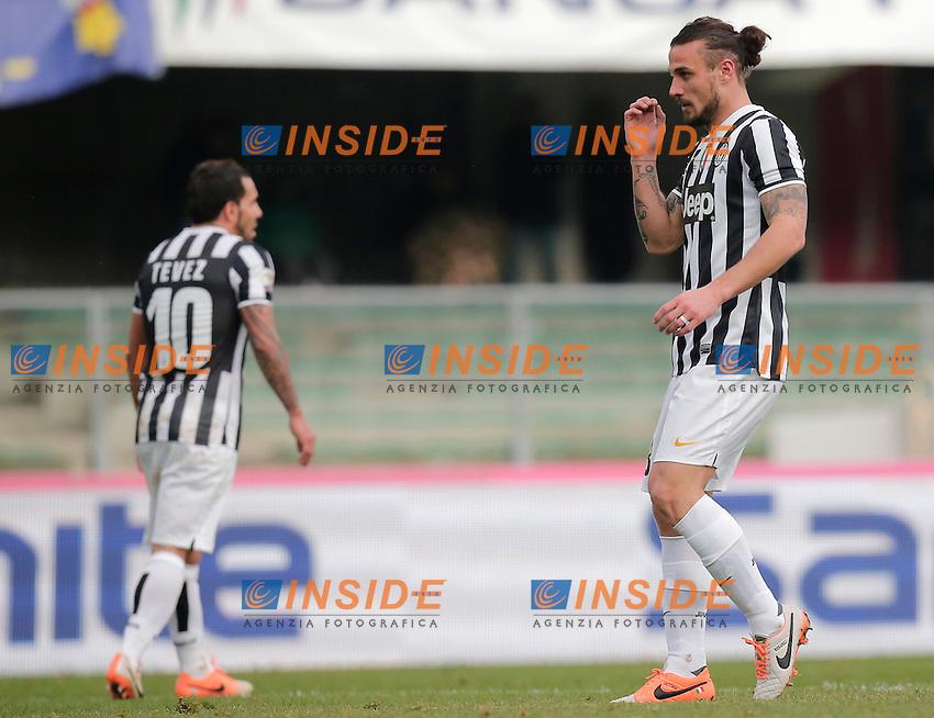 Pablo Osvaldo Juventus, Verona 9-2-2014, Stadio Bentegodi, Football Calcio 2013/2014 Serie A, Hellas Verona - Juventus, Foto Marco Bertorello/Insidefoto