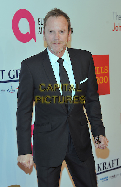 New York,NY-November 2: Kiefer Sutherland attend Elton John AIDS Foundation's 14th Annual An Enduring Vision Benefit at Cipriani Wall Street on November 2, 2015 in New York City.. <br /> CAP/MPI/STV<br /> &copy;STV/MPI/Capital Pictures
