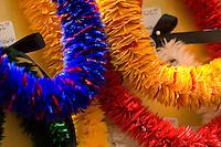 Hawaiian feather lei