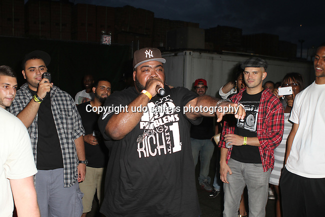 Da Circle Performs at The Well, Brooklyn NY  9/8/12