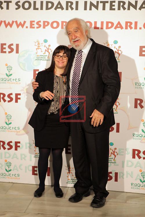 XIe Sopar Solidari d'ESI (Esport Solidari Internacional).<br /> Josep Maldonado &amp; Anna Vives.