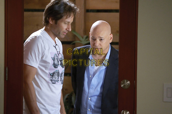 DAVID DUCHOVNY & EVAN HANDLER.in Californication (Season 3, Episode 1) .*Filmstill - Editorial Use Only*.CAP/FB.Supplied by Capital Pictures.