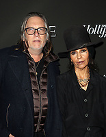 LOS ANGELES, CA - JANUARY 5: Kerry Brown, Linda Perry, at the J/P HRO &amp; Disaster Relief Gala hosted by Sean Penn at Wiltern Theater in Los Angeles, Caliornia on January 5, 2019.            <br /> CAP/MPI/FS<br /> &copy;FS/MPI/Capital Pictures