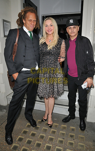 """Heather Bird and guests at the """"The Gatekeeper"""" by Russ Kane book launch party, The Wellington Club, Jermyn Street, London, England, UK, on Thursday 30th May 2019.<br /> CAP/CAN<br /> ©CAN/Capital Pictures"""
