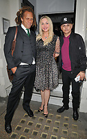 "Heather Bird and guests at the ""The Gatekeeper"" by Russ Kane book launch party, The Wellington Club, Jermyn Street, London, England, UK, on Thursday 30th May 2019.<br /> CAP/CAN<br /> ©CAN/Capital Pictures"