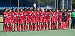 BREDA - line up Belgie.      Belgie-Pakistan .  Rabobank Champions  Trophy `2018 .   COPYRIGHT  KOEN SUYK