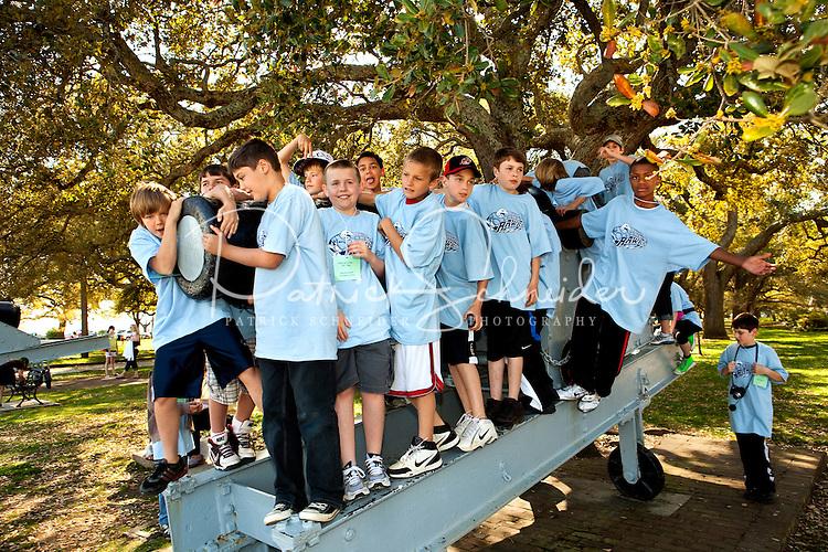 3/31/10: J.V. Washam Elementary School 5th grade trip to Charleston, South Carolina.
