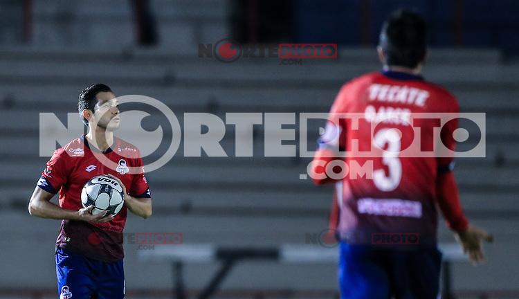 Josue Soto, durante el partido de futbol soccer entre Potros del Atlante vs  Cimarrones Fc, Jornada 16 torneo Apertura de la Liga Ascenso MX 2016. Estadio H&eacute;roe de Nacozari. *****<br /> &copy;Foto: LuisGutierrrez/NortePhoto