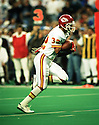 Kansas City Chiefs Marcus Allen (32) during a game against from his 1993 season with the Kansas City Chiefs. Marcus Allen played for 16 years with 2 different teams, was a 6-time Pro Bowler and was inducted to the Pro Football Hall of Fame in 2003.