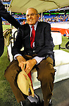 7 December 2008:  Buffalo Bills' owner Ralph Wilson awaits the starting ceremonies prior to the first regular season NFL game ever to be played in Canada between the Buffalo Bills and the Miami Dolphins at the Rogers Centre in Toronto, Ontario, Canada. The Dolphins defeated the Bills 16-3 in the historic event...Mandatory Photo Credit: Ed Wolfstein Photo