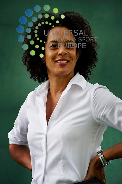 Aminatta Forna whose father was a opposition politician assassinated in Sierra Leone, at the Edinburgh International Book Festival to discuss the power of the 'free word', 16th August, 2010..Picture:Scott Taylor Universal News And Sport (Europe) 16 August 2010.All pictures must be credited to www.universalnewsandsport.com. (Office)0844 884 51 22.