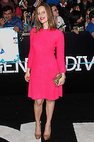 """WESTWOOD, LOS ANGELES, CA, USA - MARCH 18: Liz Goldwyn at the World Premiere Of Summit Entertainment's """"Divergent"""" held at the Regency Bruin Theatre on March 18, 2014 in Westwood, Los Angeles, California, United States. (Photo by Xavier Collin/Celebrity Monitor)"""