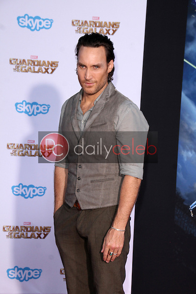 """Callan Mulvey<br /> at the """"Guardians Of The Galaxy"""" Premiere, Dolby Theater, Hollywood, CA 07-21-14<br /> David Edwards/Dailyceleb.com 818-249-4998"""