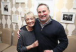 Carol Hall and Dustin Sparks during The DGF's 14th Biannual Madge Evans & Sidney Kingsley Awards at the Dramatists Guild Fund headquarters on April 4, 2016 in New York City.