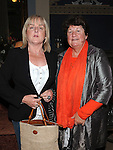 Jane Conlon and Marie O'Rourke at the Ledwidge evening at Slane castle. Photo: Colin Bell/pressphotos.ie