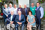 Minister Jimmy Deenihan with the Killorglin Chamber Alliance committee at the Diaspora conference in Killorglin on Fridayfront row l-r: Ger Counihan Chairman, Minister Jimmy Deenihan, Trudi O'Sullivan. Back row; Peter Keane, Brendan Foley, Brian jones, Neil Browne, Michael Fleming, Billy Browne, Chris O'Donnell