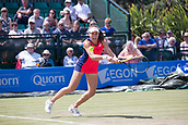 June 15th 2017, Nottingham, England; WTA Aegon Nottingham Open Tennis Tournament day 6;  Johanna Konta of Great Britain during her win over Yanina Wickmayer of Belgium on centre court