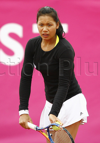 16 05 2010  Stephanie Vongsouthi FRA during the qualifications at the Strasbourg Womens Tennis Tour (WTA).