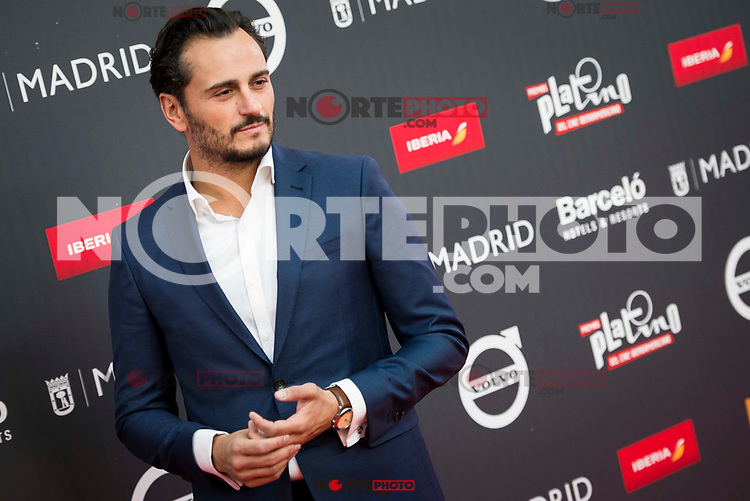 "Asier Etxeandia attends to the presentation of the ""Premios Platino"" at Palacio de Cristal in Madrid. April 07, 2017. (ALTERPHOTOS/Borja B.Hojas) (NortePhoto.com)"