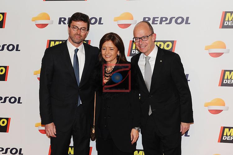 68 Gala Mundo Deportivo.<br /> Rafa Gonzalez Adrio y Sra. con Jordi Cardoner.