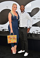 Tommy Davidson &amp; Amanda Moore at the premiere for &quot;The Equalizer 2&quot; at the TCL Chinese Theatre, Los Angeles, USA 17 July 2018<br /> Picture: Paul Smith/Featureflash/SilverHub 0208 004 5359 sales@silverhubmedia.com