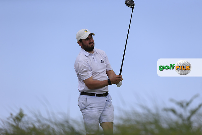 John Greene (Portmarnock) during the 1st round of the East of Ireland championship, Co Louth Golf Club, Baltray, Co Louth, Ireland. 02/06/2017<br /> Picture: Golffile | Fran Caffrey<br /> <br /> <br /> All photo usage must carry mandatory copyright credit (&copy; Golffile | Fran Caffrey)