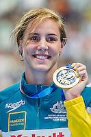 CAMPBELL Bronte AUS<br /> 100 Freestyle Women Final Gold Medal<br /> Swimming - Kazan Arena<br /> Day15 07/08/2015<br /> XVI FINA World Championships Aquatics Swimming<br /> Kazan Tatarstan RUS July 24 - Aug. 9 2015 <br /> Photo A.Masini/Deepbluemedia/Insidefoto