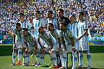 Argentina team group line-up (ARG),<br /> JULY 1, 2014 - Football / Soccer : FIFA World Cup Brazil 2014 Round of 16 match between Argentina 1-0 Switzerland at Arena de Sao Paulo in Sao Paulo, Brazil.<br /> (Photo by FAR EAST PRESS/AFLO)