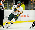 6 December 2009: University of Vermont Catamount forward Jack Downing, a Junior from New Canaan, CT, in action against the University of New Hampshire Wildcats at Gutterson Fieldhouse in Burlington, Vermont. The Wildcats defeated the Catamounts 5-2 in the Hockey East matchup. Mandatory Credit: Ed Wolfstein Photo