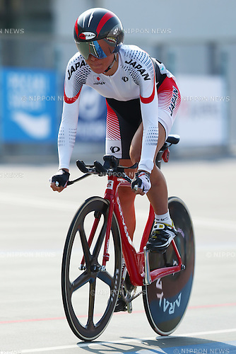 Sakura Tsukagoshi (JPN),<br /> SEPTEMBER 25, 2014 - Cycling - Track : <br /> Women's Omnium 500m Time Trial <br /> at Incheon International Velodrome <br /> during the 2014 Incheon Asian Games in Incheon, South Korea. <br /> (Photo by Shingo Ito/AFLO SPORT)