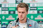 10.10.2018, Mixed Zone - Weserstadion, Bremen, GER, 1.FBL, Werder Bremen, Sebastian Langkamp (Werder Bremen #15) Mixed Zone, <br /> <br /> im Bild<br /> Sebastian Langkamp (Werder Bremen #15), <br /> <br /> Foto &copy; nordphoto / Ewert
