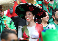 Lady Mexico Fan