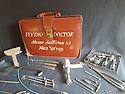 03/01/17<br /> ***WITH PICS***<br /> By Carolyn Bointon<br /> <br /> Complete flying doctor&rsquo;s bag, with 100 instruments including a forceps and a drill.<br /> <br /> With the January sales in full force, you might prefer to steer clear of the crowds and look online for an unmissable deal - and this auction is certainly offering some unique items that you won&rsquo;t find in your local shopping malls!<br /> <br /> Full story https://fstoppressblog.wordpress.com/the-alternative-to-january-sales/<br /> <br /> All Rights Reserved: F Stop Press Ltd. +44(0)1773 550665 &nbsp; www.fstoppress.com