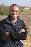 Damien Martial, winemaker chateau le boscq st estephe medoc bordeaux france