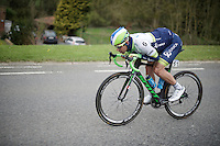 Michael Matthews (AUS/Orica-GreenEDGE) catapulting himself forward<br /> <br /> 56th De Brabantse Pijl - La Flèche Brabançonne (1.HC)